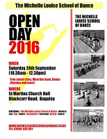 Dance Classes, Wythenshawe, Open Day